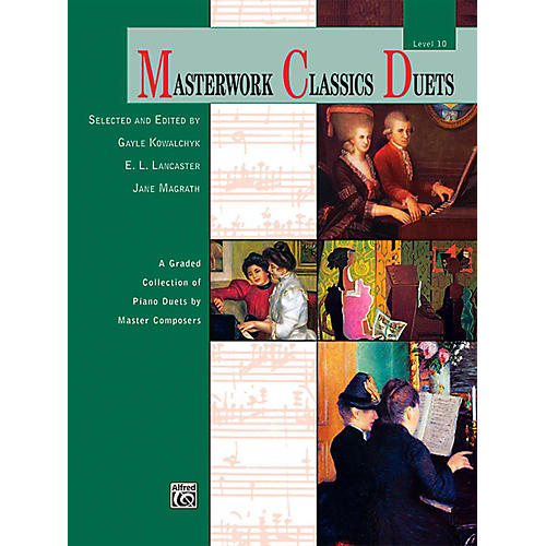 Alfred Masterwork Classics Duets Level 10 Early Advanced / Advanced-thumbnail