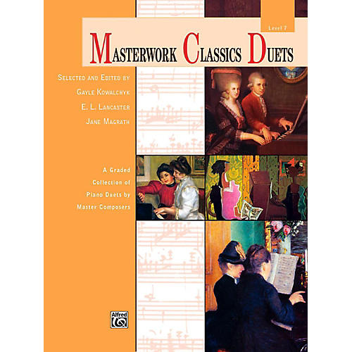 Alfred Masterwork Classics Duets Level 7 Late Intermediate-thumbnail