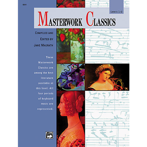 Alfred Masterwork Classics Level 1 & 2 Book & CD-thumbnail