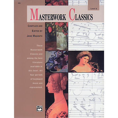 Alfred Masterwork Classics Level 6 Book & CD Piano-thumbnail