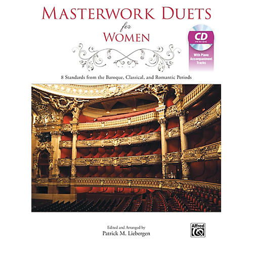 Alfred Masterwork Duets for Women Acc. CD-thumbnail