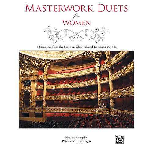Alfred Masterwork Duets for Women Book-thumbnail