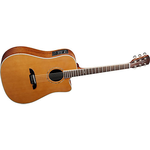 Alvarez Masterworks Series MD60C Cutaway Dreadnought Acoustic-Electric Guitar
