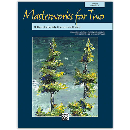 Alfred Masterworks for Two Book Junior High, High School & Adult-thumbnail