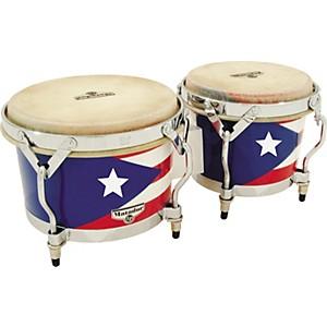 LP Matador Puerto Rican Flag Bongos by LP