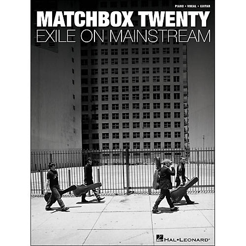 Hal Leonard Matchbox Twenty - Exile On Mainstream arranged for piano, vocal, and guitar (P/V/G)