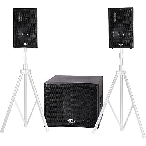 B-52 Matrix-1000 V2 700W Active 3-Piece Speaker System-thumbnail
