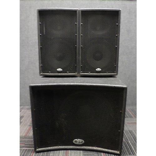 used b 52 matrix 1000 v2 700w sound package guitar center. Black Bedroom Furniture Sets. Home Design Ideas
