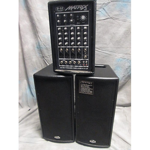B-52 Matrix 200 200W Sound Package-thumbnail