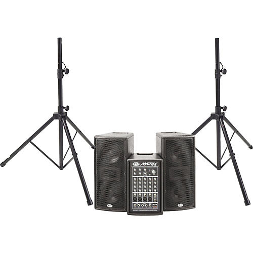 b 52 matrix 200 system with stands guitar center. Black Bedroom Furniture Sets. Home Design Ideas