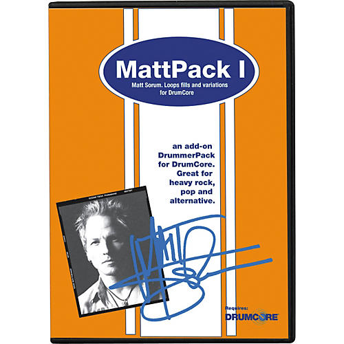 Submersible Music MattPack I Add-On DrummerPack for DrumCore