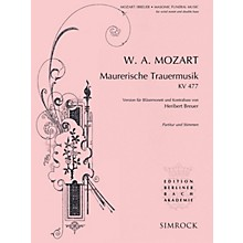 Simrock Maurerische Trauermusik, K. 477 Composed by Wolfgang Amadeus Mozart Arranged by Heribert Breuer