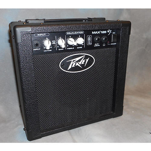 used peavey max 126 1x6 5 10w bass combo amp guitar center. Black Bedroom Furniture Sets. Home Design Ideas