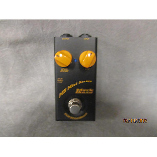 Markbass Mb Mini Boost Effect Pedal-thumbnail