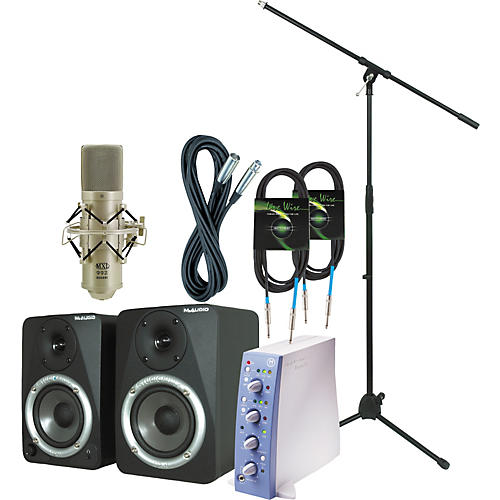 Digidesign Mbox Recording Bundle-thumbnail