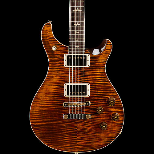 PRS McCarty 594 Figured Maple 10 Top with Nickel Hardware Electric Guitar Orange Tiger
