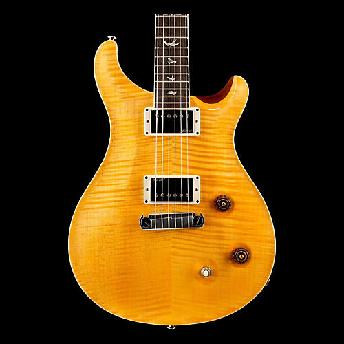 PRS McCarty Carved Flame Maple Top Bird Inlays Honey