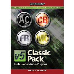 McDSP Classic Pack Native v5 Software Download (1075-33)