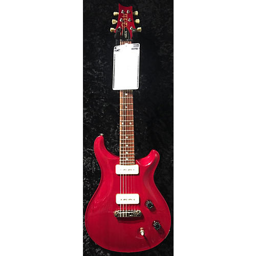 PRS Mccarty Soapbar Solid Body Electric Guitar Trans Red