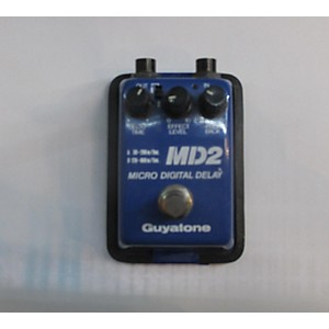 Pre-owned Guyatone Md2 Micro Digital Delay Effect Pedal by Guyatone
