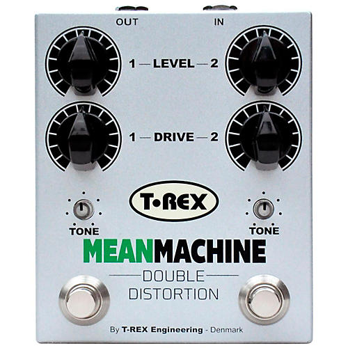 T-Rex Engineering Mean Machine Twin-Channel Distortion Guitar Effects Pedal-thumbnail