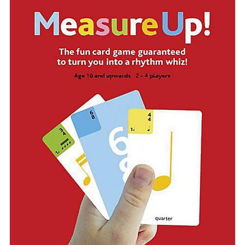 Music Sales Measure Up! Music Card Game-thumbnail