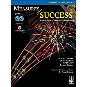 FJH Music Measures of Success B-flat Tenor Saxophone Book 1 by FJH Music