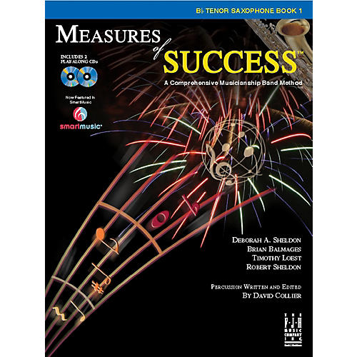 FJH Music Measures of Success B-flat Tenor Saxophone Book 1