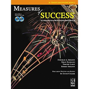 FJH Music Measures of Success B-flat Tenor Saxophone Book 2
