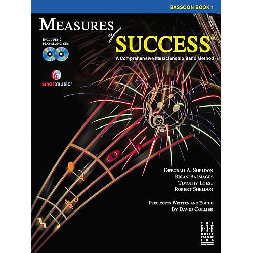 FJH Music Measures of Success Bassoon Book 1-thumbnail
