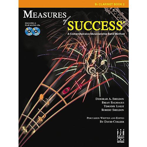 FJH Music Measures of Success Clarinet Book 2-thumbnail