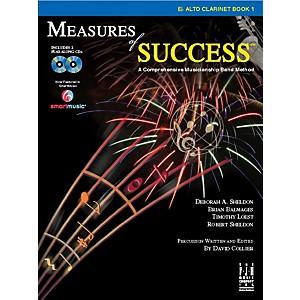 FJH Music Measures of Success E-flat Alto Clarinet Book 1 by FJH Music