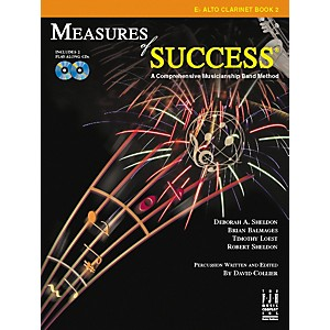 FJH Music Measures of Success E-flat Alto Clarinet Book 2 by FJH Music
