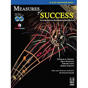 FJH Music Measures of Success E-flat Alto Saxophone Book 1 by