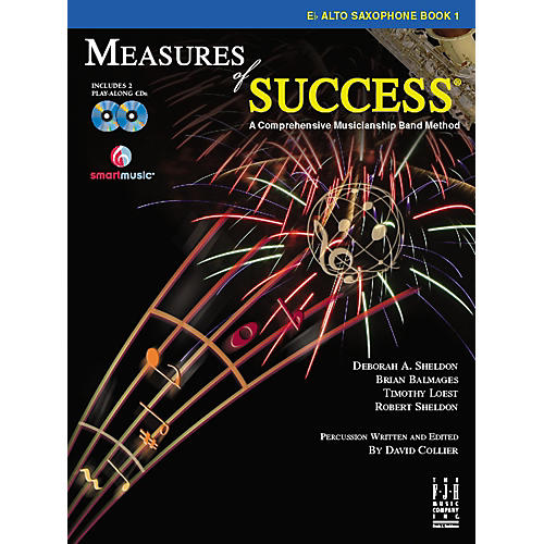 FJH Music Measures of Success E-flat Alto Saxophone Book 1