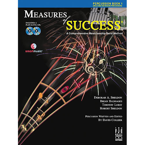 FJH Music Measures of Success Percussion Book 1-thumbnail