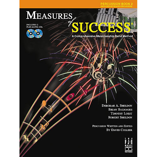 FJH Music Measures of Success Percussion Book 2