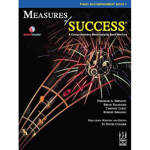 FJH Music Measures of Success® Piano Accompaniment Book 1
