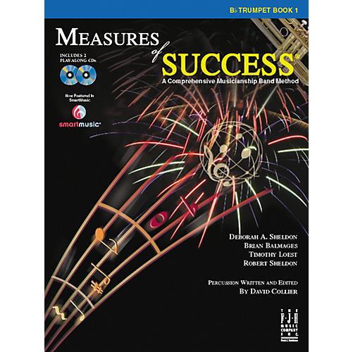 FJH Music Measures of Success Trumpet Book 1-thumbnail