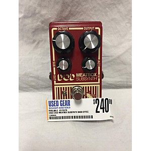 Pre-owned DOD Meatbox Subsynth Bass Effect Pedal by DOD
