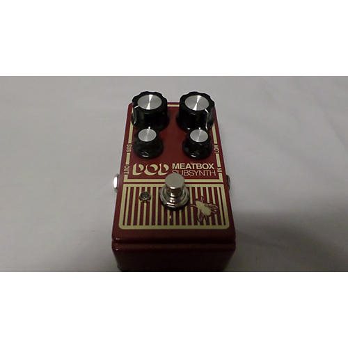 DOD Meatbox Subsynth Effect Pedal-thumbnail