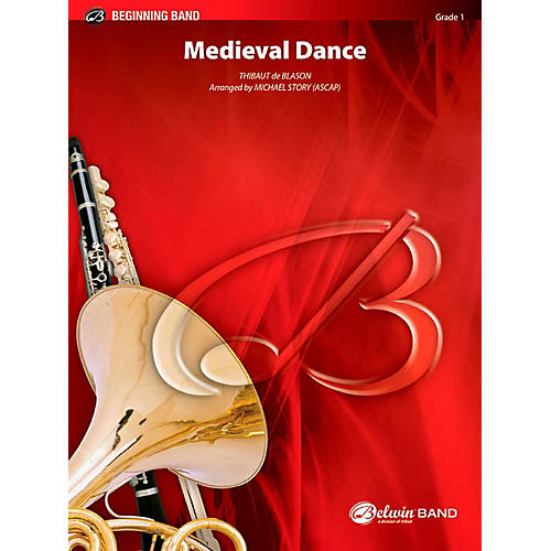 BELWIN Medieval Dance Concert Band Grade 1 (Very Easy)