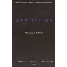 Transcontinental Music Meditation (May The Words) SATB composed by Marshall Portnoy