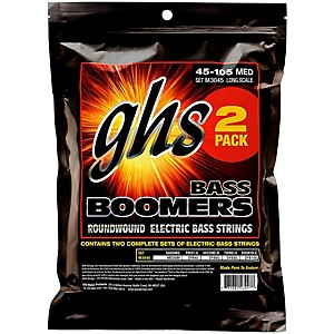 GHS Medium Bass Boomers Strings 2 Pack