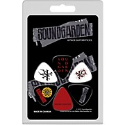 Perri's Medium Celluloid Picks With Soundgarden Logo