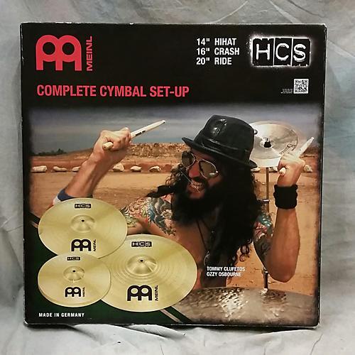 Meinl Medium HCS Hi Hat Crash Ride Set Cymbal-thumbnail