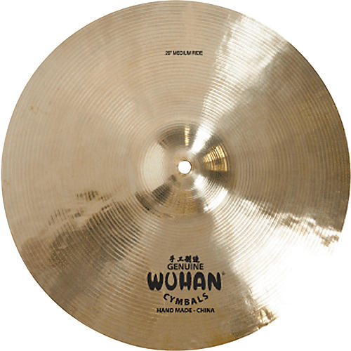 Wuhan Medium Ride Cymbal 20 in.