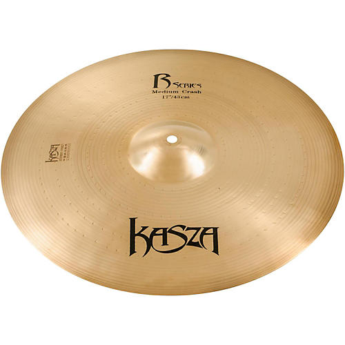 Kasza Cymbals Medium Rock Crash Cymbal 17 in.