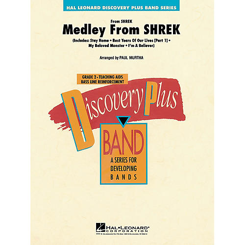 Hal Leonard Medley from Shrek - Discovery Plus Concert Band Series Level 2 arranged by Paul Murtha