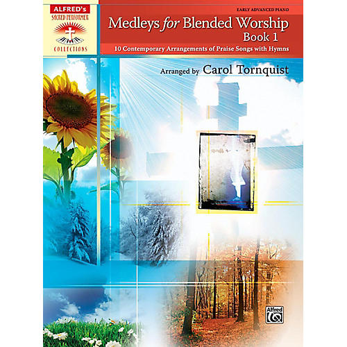 Alfred Medleys for Blended Worship Book 1 Early Advanced Piano-thumbnail